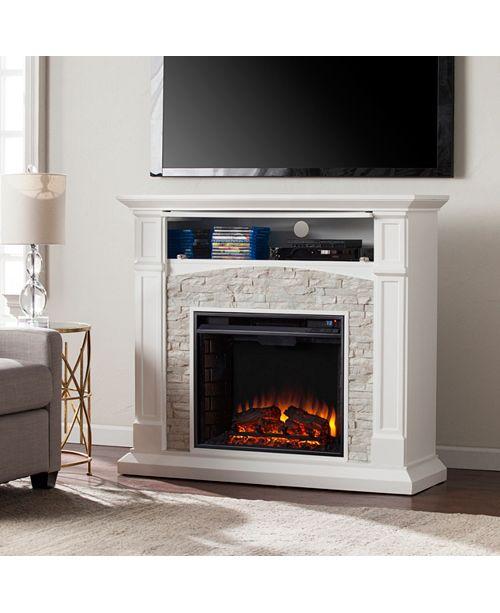 Southern Enterprises Chartier Fireplace