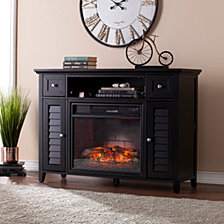 CLOSEOUT! Mill Creek 3-N-1 Fireplace, Quick Ship
