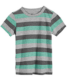 Epic Threads Little Boys Hudson Striped Shirt, Created for Macy's