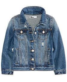 Little Girls Cotton Denim Jacket, Created for Macy's