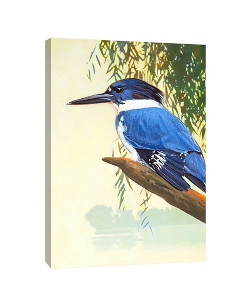 PTM Images Kingfisher Decorative Canvas Wall Art