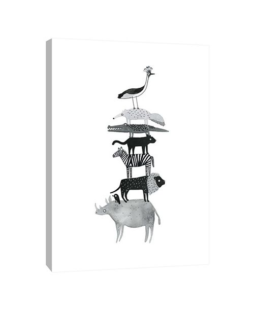 PTM Images Totem No.2 Decorative Canvas Wall Art