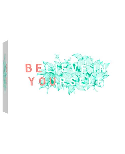 PTM Images In Yourself Decorative Canvas Wall Art
