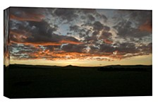 Sunset Decorative Canvas Wall Art