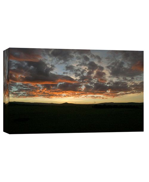 PTM Images Sunset Decorative Canvas Wall Art