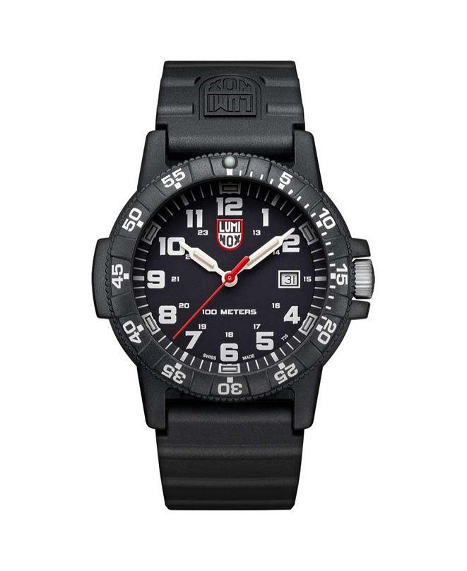 Luminox Men's 0321 Sea Turtle Black Rubber Bracelet Watch