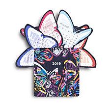 Vera Bradley Butterfly Flutter Desk Calendar