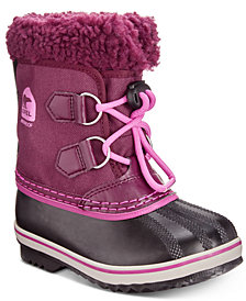Sorel Kid's Yoot Pac Nylon Waterproof Boots