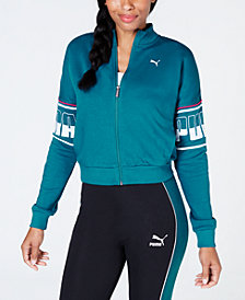 Puma Rebel Cropped Track Jacket