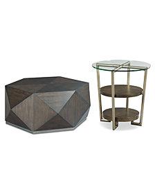 Dakota and Dax Table Furniture, 2-Pc. Set