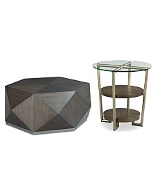 Dakota and Dax Table Furniture, 2-Pc. Set
