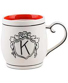 Home Essentials Molly Hatch Monogram Mug, Letter K
