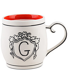 Home Essentials Molly Hatch Monogram Mug, Letter G