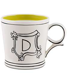 Home Essentials Molly Hatch Monogram Mug, Letter D