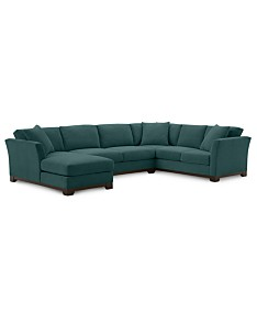 Green Sectional Sofas & Couches - Macy\'s