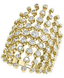 EFFY® Diamond Multi-Bezel Statement Ring (1-5/8 ct. t.w.) in 14k Gold