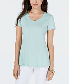 Style & Co Peplum Top, Created for Macy's