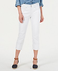 High Cuffed Capri Jeans, Created for Macy's
