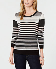 Tommy Hilfiger Striped Sweater, Created for Macy's
