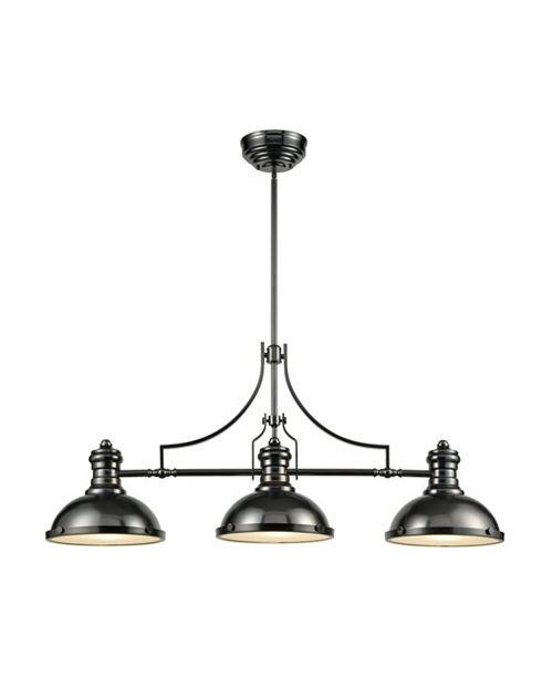 ELK Lighting Chadwick 1 Billiard/Island Black Nickel