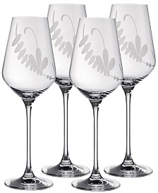 Villeroy & Boch Old Luxembourg Brindille White Wine, Set of 4