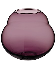 Villeroy & Boch Jolie Mauve Hurricane/Large Vase