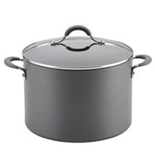 Circulon Radiance Hard-Anodized Nonstick Wide 10 Qt Stockpot