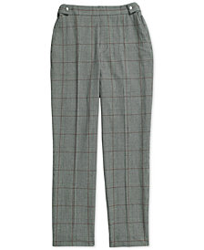 Tommy Hilfiger Women's Christa Ankle Pull On Plaid Pants from The Adaptive Collection