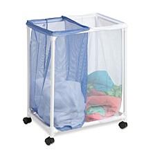 2 Bag Mesh Laundry Sorter