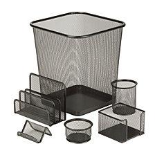 Honey Can Do 6-pc. Mesh Desk Set