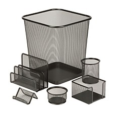 Honey Can Do 6-pc. Mesh Desk Set