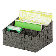 Honey Can Do Mail and Desk Organizer, Speckled