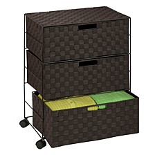 3-Drawer Rolling Chest