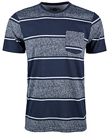 American Rag Men's Wide Striped Pocket T-Shirt, Created for Macy's