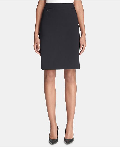 273093118d49 Calvin Klein Pencil Skirt, Regular & Petite & Reviews - Skirts ...