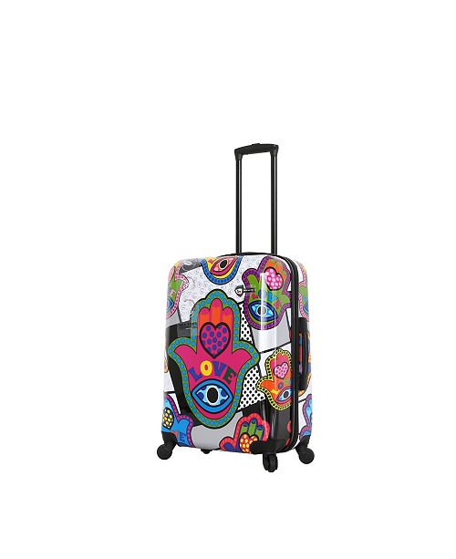 "Mia Toro ITALY Hamsa Love S Hardside 24"" Spinner Luggage"