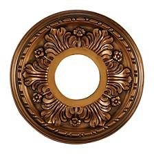"""Acanthus Medallion 11"""" in Antique Bronze Finish"""