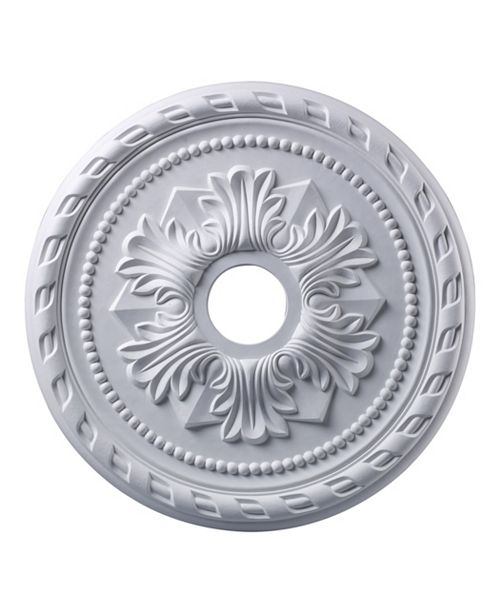 "ELK Lighting Corinthian Medallion 22"" In White Finish"