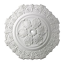 "Marietta Medallion 33"" In White Finish"