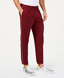 I.N.C. Men's Piped Drawstring Jogger Pants, Created for Macy's