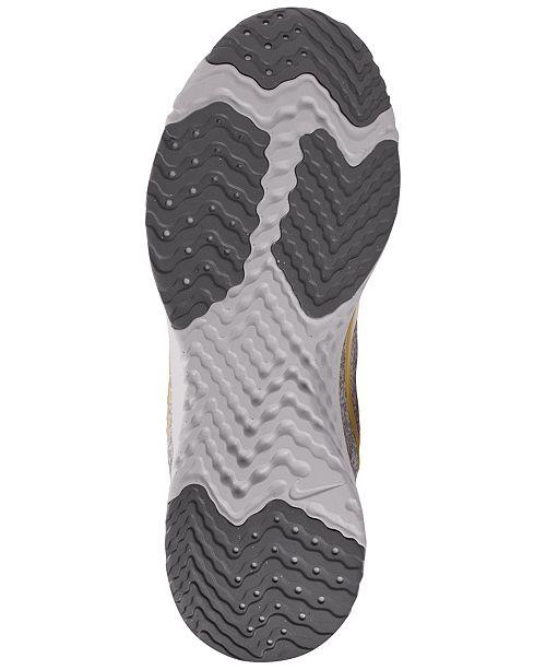 5795848584b9 Nike Women s Odyssey React Metallic Premium Running Sneakers from Finish  Line ...