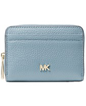6a11a4f51d0a MICHAEL Michael Kors Pebble Leather Zip-Around Coin & Card Case
