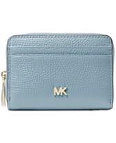 7b47728b5f52 MICHAEL Michael Kors Pebble Leather Zip-Around Coin & Card Case