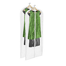 Honey Can Do 2-Pack Hanging Dress Bag