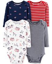 b7d5d31ef Bodysuits Baby Boy Clothes - Macy s