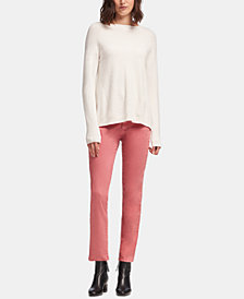 DKNY Long-Sleeve Textured-Knit Sweater, Created for Macy's