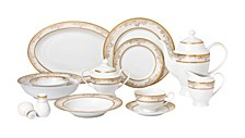 Chloe 57-PC Dinnerware Set, Service for 8