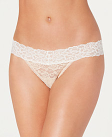 Maidenform Sexy Must Have Sheer Lace Thong DMESLT