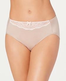 Maidenform Women's Comfort Devotion Lace Detail High-Cut Brief CDHLBF
