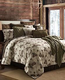 Forest Pine 4-Pc Full Comforter Set